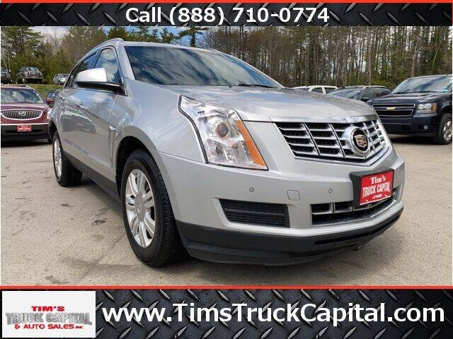 2015 Cadillac SRX for sale at TTC AUTO OUTLET/TIM'S TRUCK CAPITAL & AUTO SALES INC ANNEX in Epsom NH