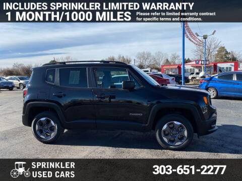 2017 Jeep Renegade for sale at Sprinkler Used Cars in Longmont CO