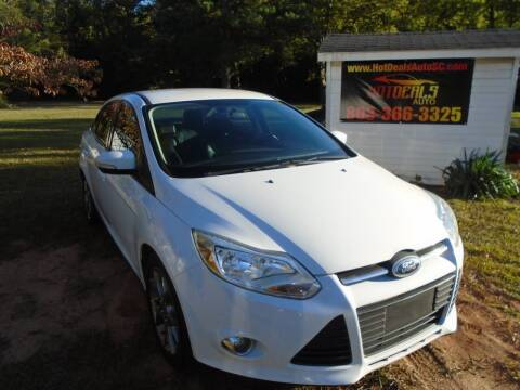 2014 Ford Focus for sale at Hot Deals Auto LLC in Rock Hill SC
