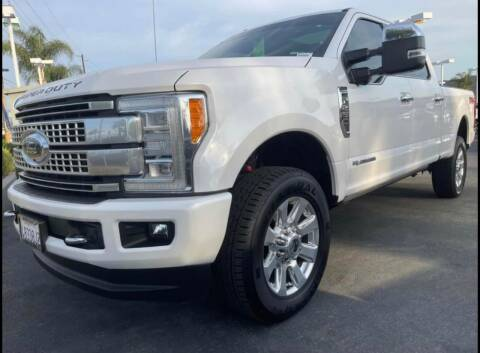 2017 Ford F-250 Super Duty for sale at BILLY D SELLS CARS! in Temecula CA