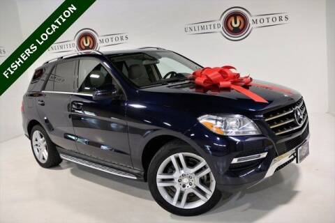 2015 Mercedes-Benz M-Class for sale at Unlimited Motors in Fishers IN