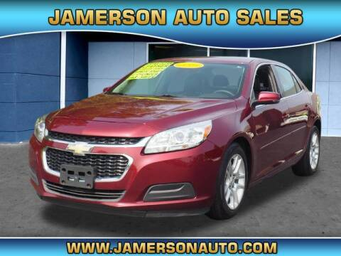 2015 Chevrolet Malibu for sale at Jamerson Auto Sales in Anderson IN