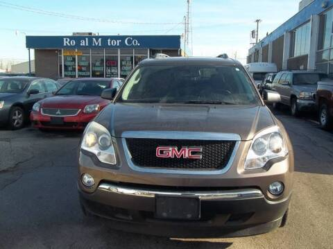 2012 GMC Acadia for sale at Royal Motors - 33 S. Byrne Rd Lot in Toledo OH