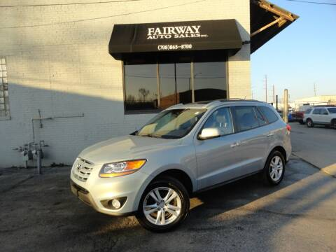 2010 Hyundai Santa Fe for sale at FAIRWAY AUTO SALES, INC. in Melrose Park IL