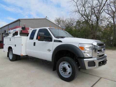 2015 Ford F-550 Super Duty for sale at TIDWELL MOTOR in Houston TX