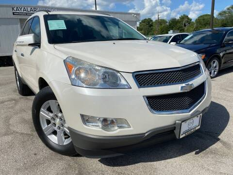 2012 Chevrolet Traverse for sale at KAYALAR MOTORS in Houston TX