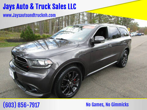 2015 Dodge Durango for sale at Jays Auto & Truck Sales LLC in Loudon NH