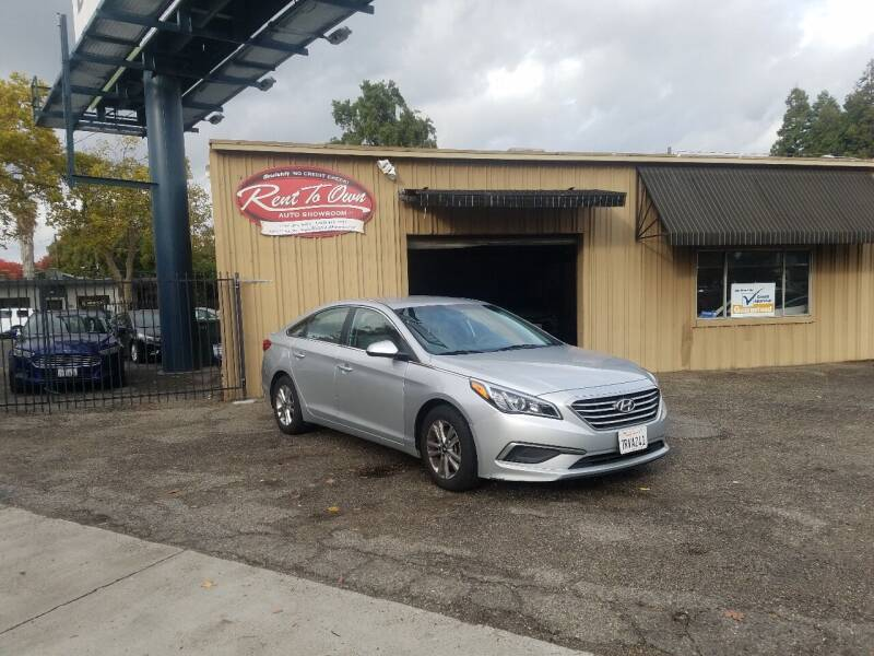 2016 Hyundai Sonata for sale at Rent To Own Auto Showroom LLC - Finance Inventory in Modesto CA