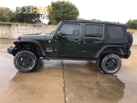 2010 Jeep Wrangler Unlimited for sale at BOB HART CHEVROLET in Vinita OK