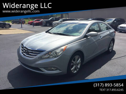 2011 Hyundai Sonata for sale at Widerange LLC in Greenwood IN