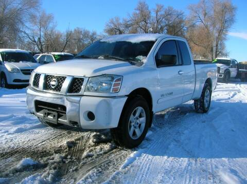 2007 Nissan Titan for sale at HORSEPOWER AUTO BROKERS in Fort Collins CO