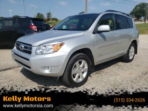 2007 Toyota RAV4 for sale at Kelly Motors in Johnston IA