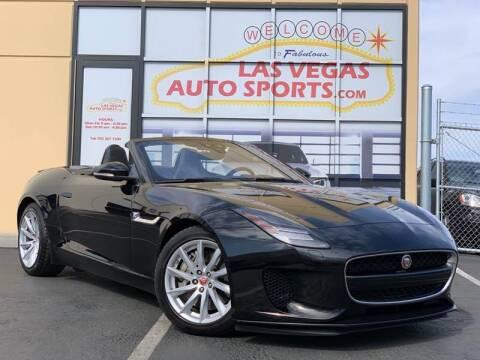 2018 Jaguar F-TYPE for sale at Las Vegas Auto Sports in Las Vegas NV