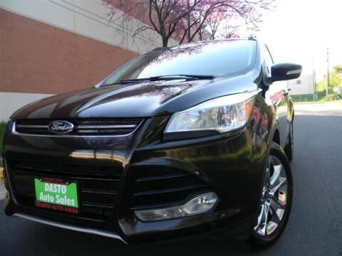 2013 Ford Escape for sale at Dasto Auto Sales in Manassas VA