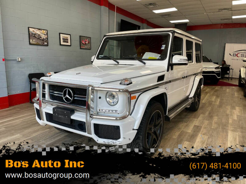 2016 Mercedes-Benz G-Class for sale at Bos Auto Inc in Quincy MA