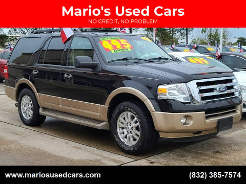 2013 Ford Expedition for sale at Mario's Used Cars in Houston TX