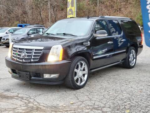 2008 Cadillac Escalade ESV for sale at FAYAD AUTOMOTIVE GROUP in Pittsburgh PA