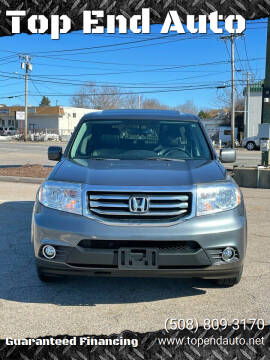 2013 Honda Pilot for sale at Top End Auto in North Atteboro MA