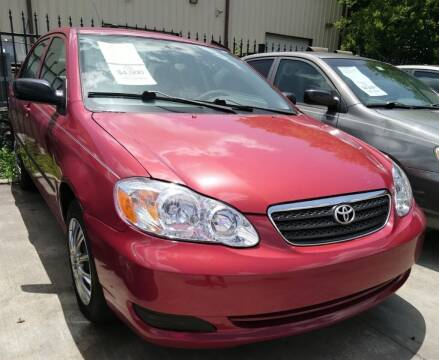 2006 Toyota Corolla for sale at TEXAS MOTOR CARS in Houston TX