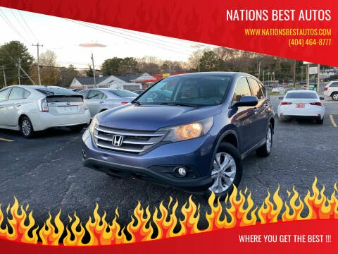 2014 Honda CR-V for sale at Nations Best Autos in Decatur GA