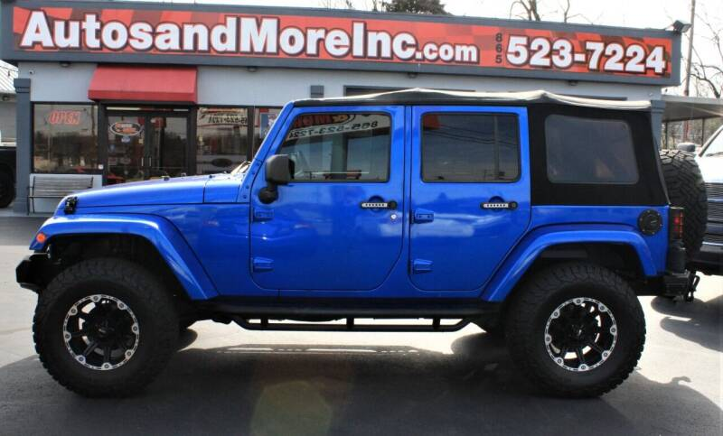 2013 Jeep Wrangler Unlimited for sale at Autos and More Inc in Knoxville TN