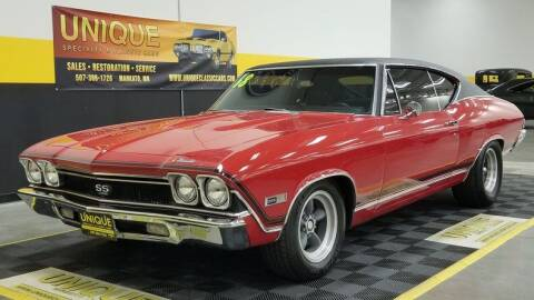 1968 Chevrolet Chevelle for sale at UNIQUE SPECIALTY & CLASSICS in Mankato MN