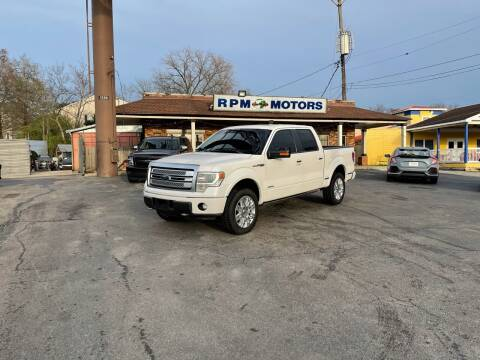 2013 Ford F-150 for sale at RPM Motors in Nashville TN