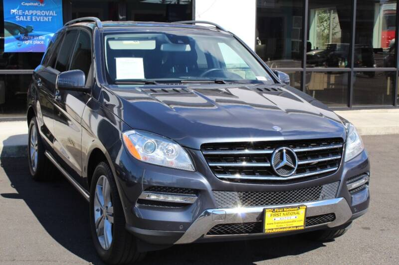 2013 Mercedes-Benz M-Class for sale in Lakewood, WA