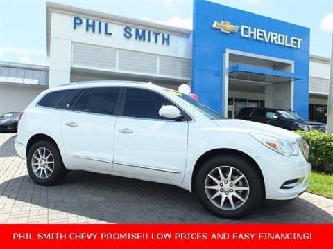 2016 Buick Enclave for sale at PHIL SMITH AUTOMOTIVE GROUP - Manager's Specials in Lighthouse Point FL