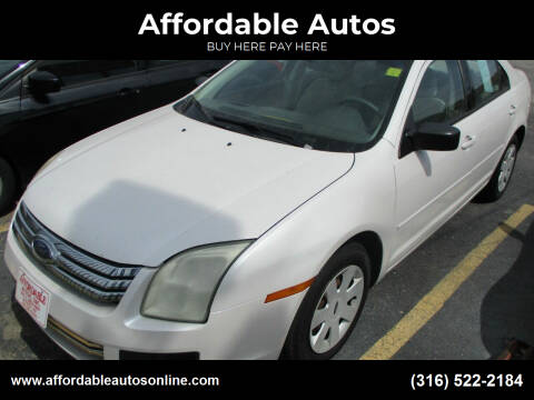 2009 Ford Fusion for sale at Affordable Autos in Wichita KS