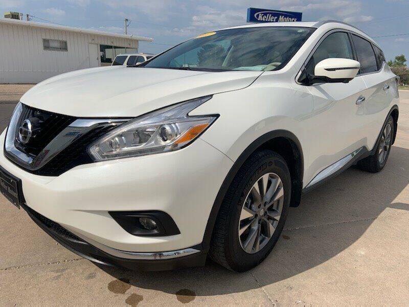 2017 Nissan Murano for sale at Keller Motors in Palco KS