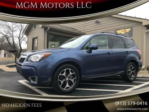 2014 Subaru Forester for sale at MGM Motors LLC in De Soto KS