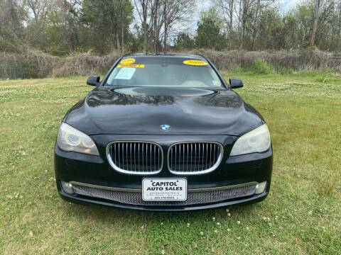 2009 BMW 7 Series for sale at CAPITOL AUTO SALES LLC in Baton Rouge LA
