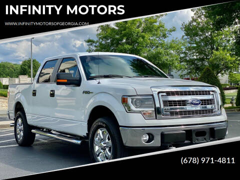 2014 Ford F-150 for sale at INFINITY MOTORS in Gainesville GA