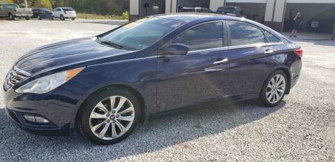 2012 Hyundai Sonata for sale at COOPER AUTO SALES in Oneida TN
