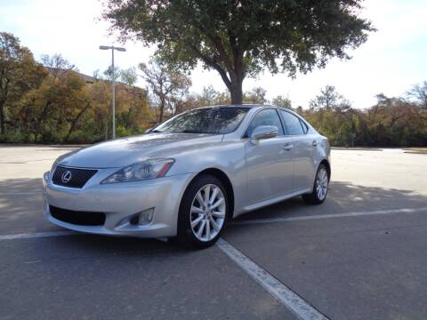 2009 Lexus IS 250 for sale at ACH AutoHaus in Dallas TX