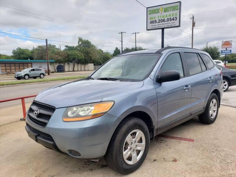 2009 Hyundai Santa Fe for sale at Shock Motors in Garland TX