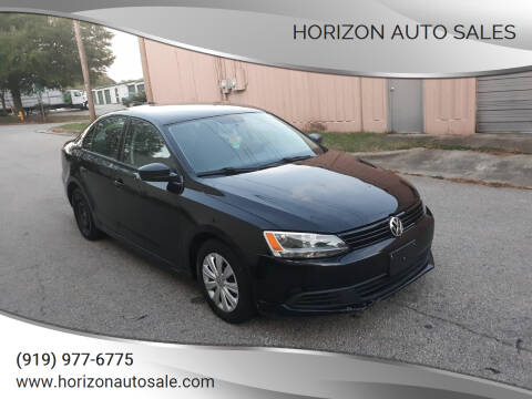 2012 Volkswagen Jetta for sale at Horizon Auto Sales in Raleigh NC