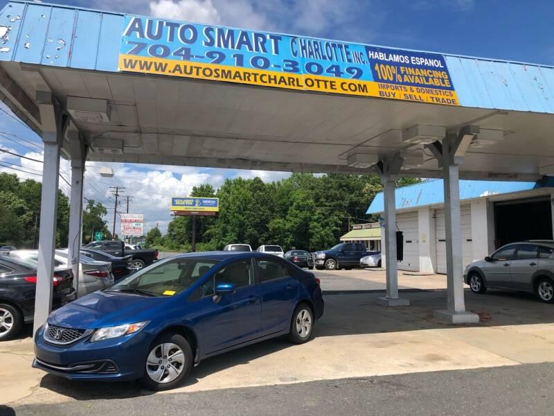 2015 Honda Civic for sale at Auto Smart Charlotte in Charlotte NC