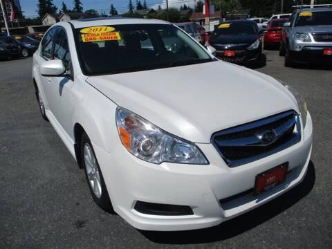 2011 Subaru Legacy for sale at GMA Of Everett in Everett WA