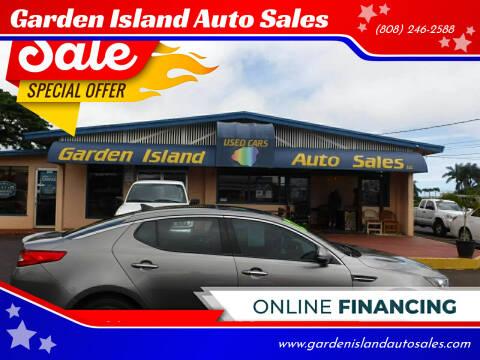 2012 Kia Optima for sale at Garden Island Auto Sales in Lihue HI