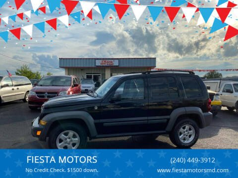 2005 Jeep Liberty for sale at FIESTA MOTORS in Hagerstown MD