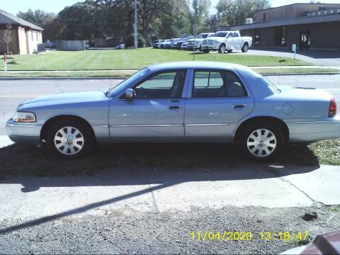 2005 Mercury Grand Marquis for sale at D & D Auto Sales in Topeka KS