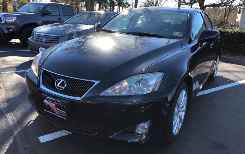 2008 Lexus IS 250 for sale at Mike's Auto Sales INC in Chesapeake VA