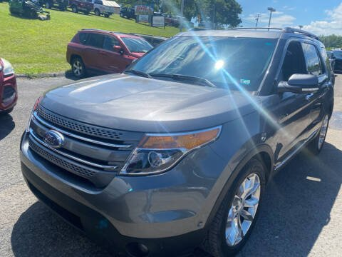 2013 Ford Explorer for sale at Ball Pre-owned Auto in Terra Alta WV