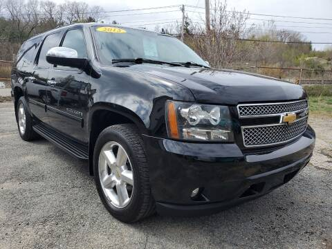 2013 Chevrolet Suburban for sale at Oxford Auto Sales in North Oxford MA