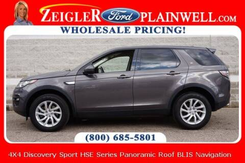 2016 Land Rover Discovery Sport for sale at Zeigler Ford of Plainwell- michael davis in Plainwell MI