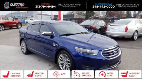 2014 Ford Taurus for sale at Quattro Motors 2 - 1 in Redford MI