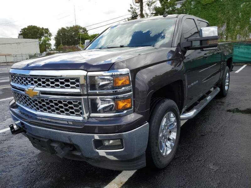 2014 Chevrolet Silverado 1500 for sale at Eden Cars Inc in Hollywood FL