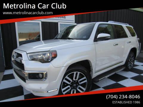 2014 Toyota 4Runner for sale at Metrolina Car Club in Matthews NC